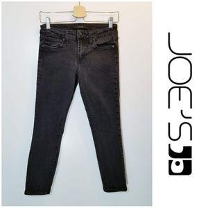 Joe's Jeans The Skinny Ankle in faded black